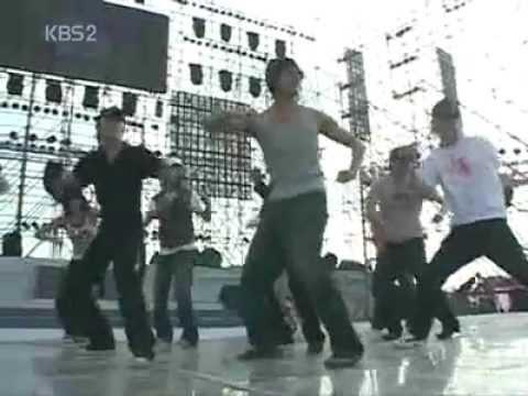 061209.강타(Kangta).KBS 연예가중계.중국 하이난 공연 현장