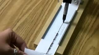 Amsti seismograph trials