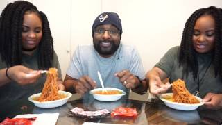 EXTREME SPICY NOODLE CHALLENGE | TWINS!!