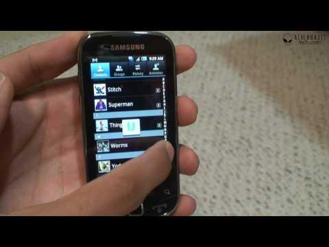 Samsung Intercept Software Review