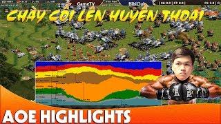 Trận đấu ngược dòng kinh điển nhất AoE của Chim Sẻ Đi Nắng | AoE Highlight