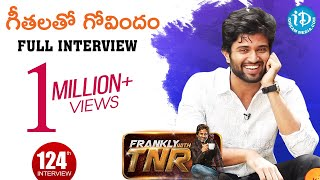 Frankly with TNR: Vijay Deverakonda with Gopikas..