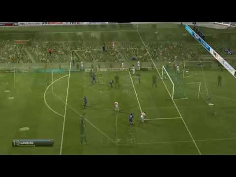 FIFA 13 Online Match - 1 vs 2 Players Gameplay