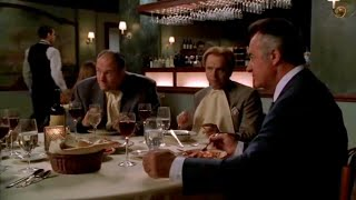 Tony, Paulie And Johnny Sack At The Dinner - The Sopranos HD