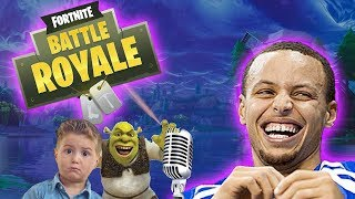 FORTNITE VOICE TROLLING ON PLAYGROUND FILL *FUNNY REACTIONS*