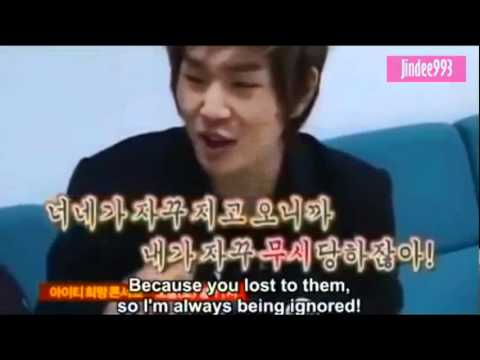 [ENG] leader onew got angry.. lol