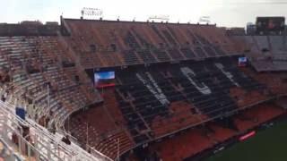 Mestalla Stadium View - Valencia Espana October 2016 Pre Kick Off