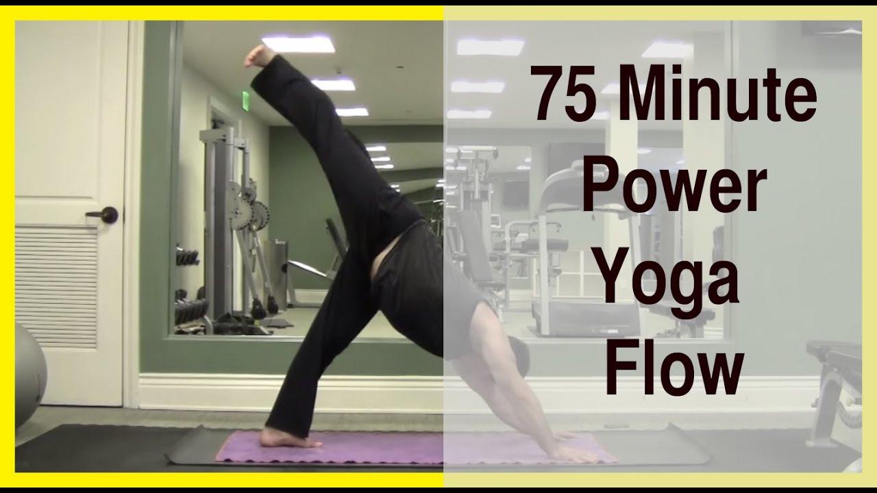 75 Minute Power Yoga Flow - YouTube