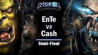 ► WarCraft 3: Cash (Orc) vs. EnTe (UD) - Endgame Gear Masters Semi-Finals