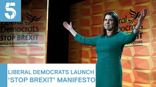 General Election 2019: Liberal Democrats unveil manifesto | 5 News