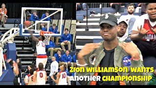 Zion Williamson SHUTS DOWN The Gym!! 360 Dunk On The Break.