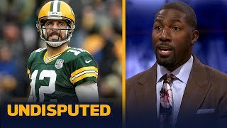Greg Jennings reacts to Aaron Rodgers' comments about playing until he's 45 | NFL | UNDISPUTED