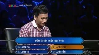 """Câu hỏi """"khó nhất"""" lịch sử Ai là Triệu phú Việt Nam"""