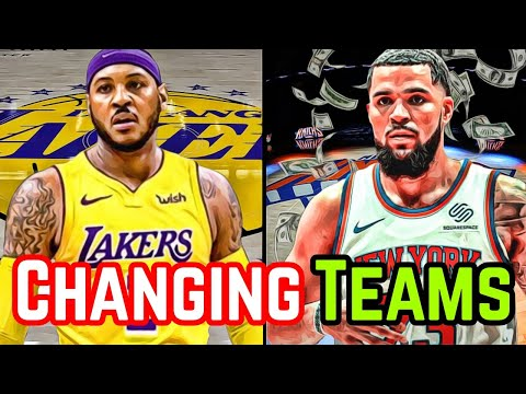 Top 6 NBA Free Agents Changing Teams