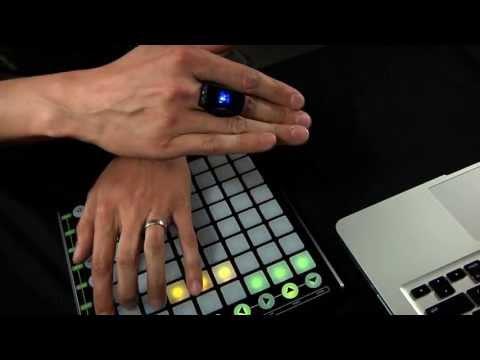 Hot Hand USB Wireless MIDI Controller: Manufacturer Demo