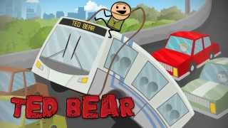 Ted Bear 2 - Cyanide & Happiness Shorts