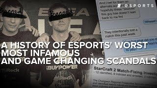 Growing Pains: A History of esports' worst, most infamous and game changing scandals