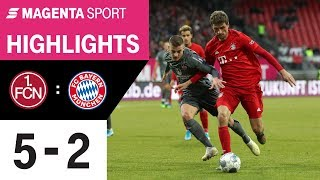 1. FC Nürnberg - FC Bayern München   Freundschaftsspiel   MAGENTA SPORT