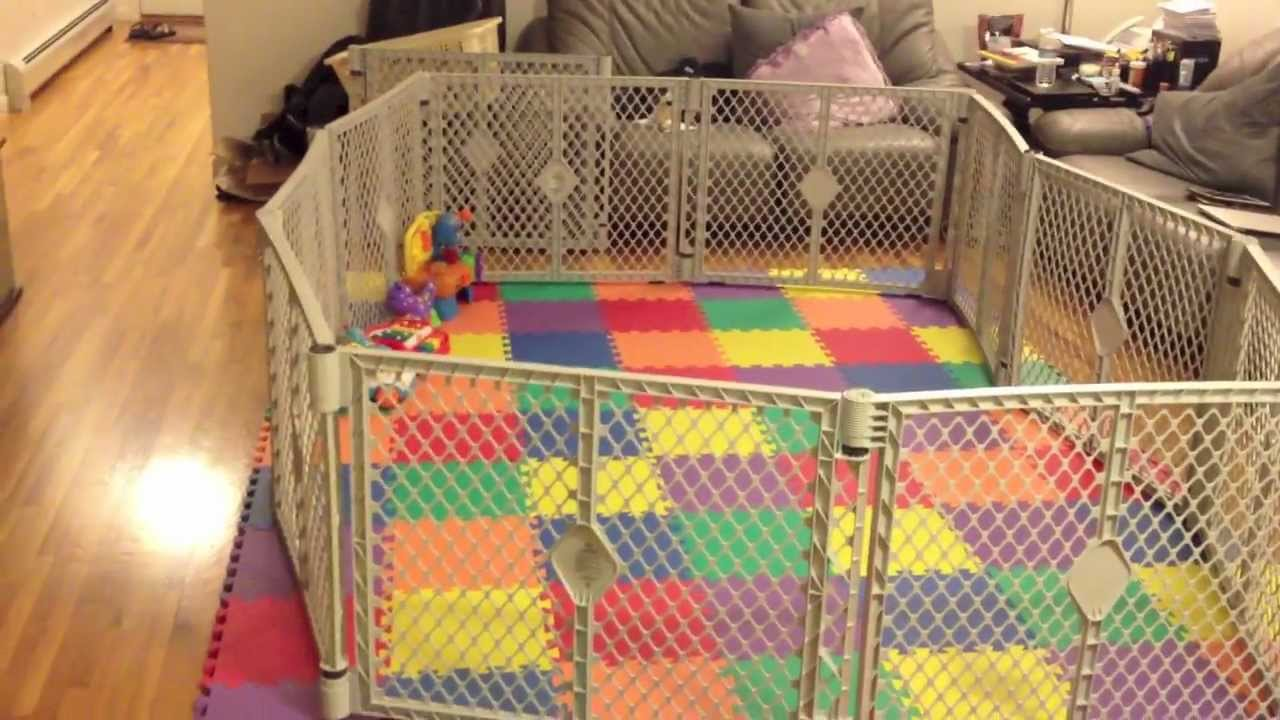 Fatherhood Baby Gets A Playpen Youtube