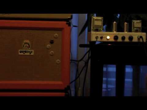Orange Tiny Terror Tube Valve Tests Comparaison - AMP TEST