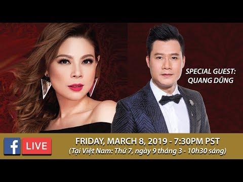 Livestream với Thanh Thảo & Quang Dũng - March 8, 2019
