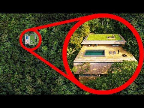 Skryté domy, ktoré neuveríte, že existujú