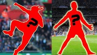 Những kiểu ăn mừng bàn thắng của các cầu thủ bóng đá. Bạn biết bao nhiêu cầu thủ ?