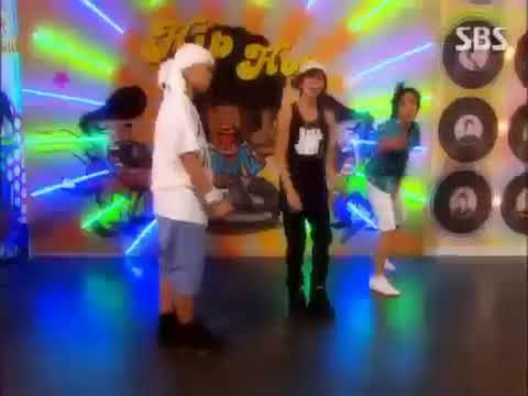 A.N.Jell dance to DJ DOC's Run To You