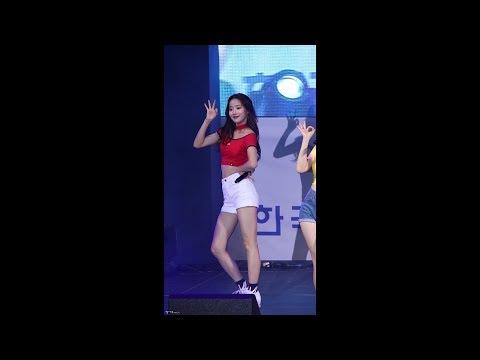 170727 에이프릴(April) 코야 썸머페스티벌 '무아(Muah)' 나은 직캠 by 김이모