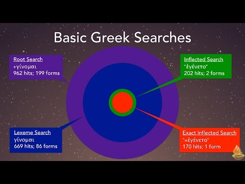 Basic Greek Searches (Lighting the Lamp Video Podcast #140)