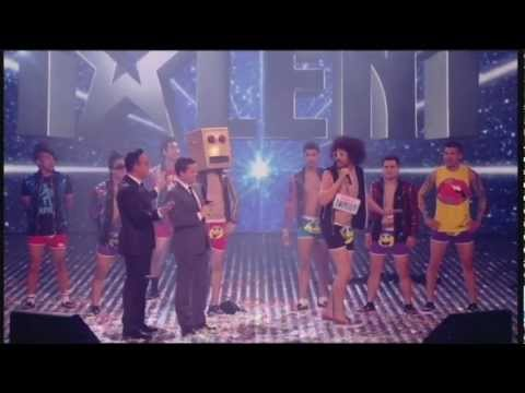 LMFAO - Party Rock Anthem/Sexy And I Know It (Britains Got Talent)