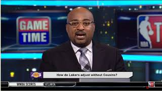 [BREAKING] NBA GameTime UPDATE DeMarcus Cousins' Injury: How do Lakers adjust without Cousins?