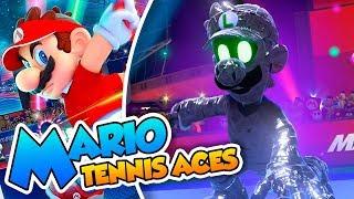 ¡Un Jefe doblemente malvado! - #06 FINAL - Mario Tennis Aces en Español  (Switch) DSimphony