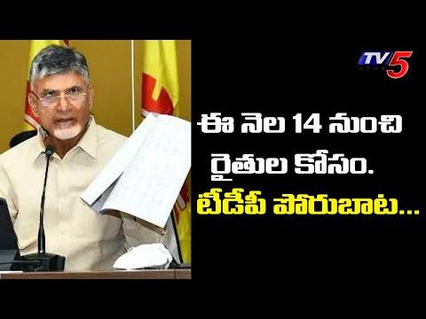 Rythula Kosam Telugu Desam: Chandrababu conducts meeting with TDP main leaders