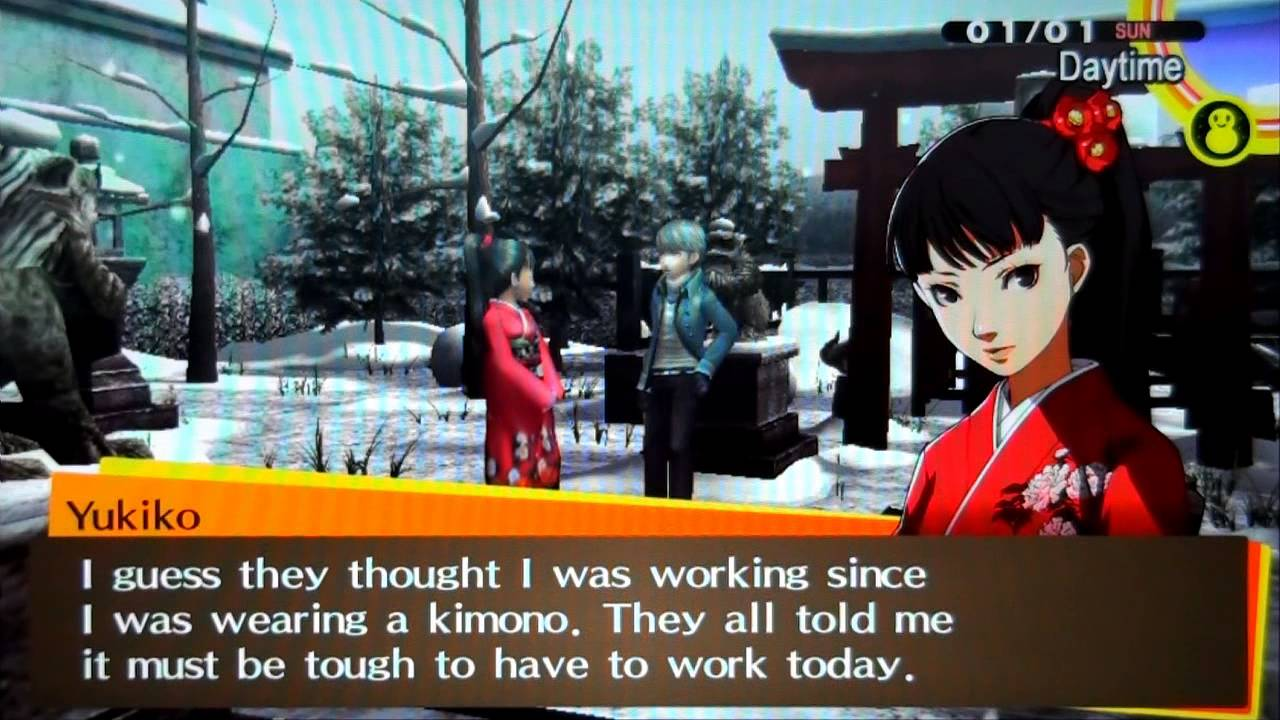 3 Replies to Persona 4 dating benefits