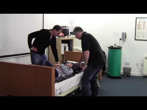 Moving Patient Back Up The Bed With Slide Sheets - Patient Moving & Handling