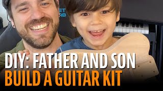Watch the Trade Secrets Video, Father and Son Build a Guitar Kit