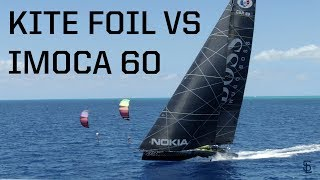 The Race! Kite foil vs Alex Thomson's Racing VLOG #22