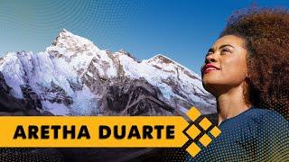 Aretha Duarte no EVEREST - Mulheres de Montanha