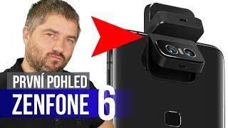 ASUS Zenfone 6: První telefon s výklopnou kamerou - [první dojmy]