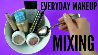 MIXING everyday Makeup Products - Smashbox, Colourpop, Nars, Too Faced | pastella 28
