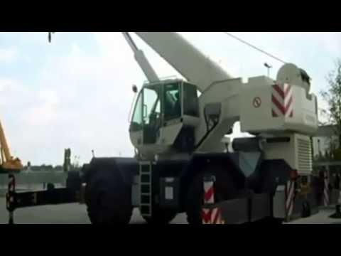 The Terex Bendini A600 Rough Terrain Crane, 6-ton lifting capacity