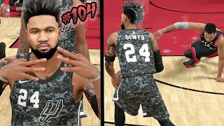 MEAN Ankle Breakers on Kyle Lowry! Must Win Championship Game! NBA 2k18 MyCAREER Ep. 104