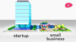 Starting a Small Business vs Starting a Startup: what's the difference?