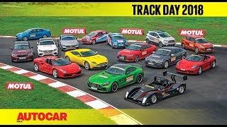 Track Day 2018 : The Cars - with Narain Karthikeyan | Autocar India