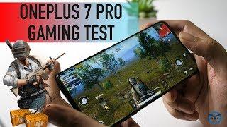 OnePlus 7 Pro PUBG Test   Gaming on Snapdragon 855   Heating Test [Hindi]