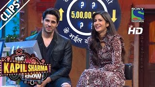 Live Game Show with Katrina and Sidharth - The Kapil Sharma Show - Episode 40 - 4th September 2016