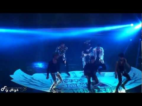 120408 Fancam HD EXO-M Debut Stage MAMA in the 12th Mengniu Yoghourt Music Chart