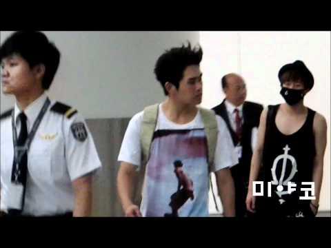 120623 BEAST.CNBLUE.INFINITE.MBLAQ in HK Airport