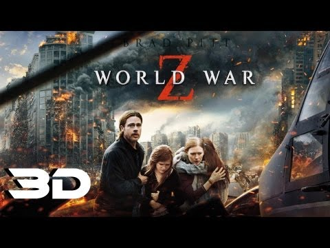 World War Z - Official Trailer 2 In 3D (2013)